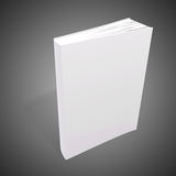 3d book with blank covers. On gray background Stock Photo