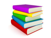 3D Books Stock Photography
