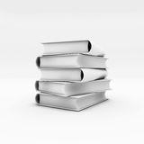 3d books Royalty Free Stock Photos