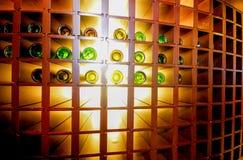3d bottles model vit wine Royaltyfri Foto