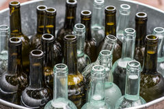 3d bottles model vit wine Arkivbild