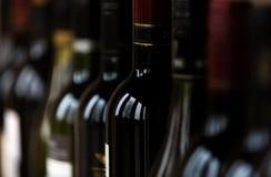 3d bottles model vit wine Royaltyfria Foton