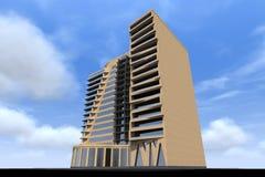 3D bouw geeft in Armenië terug Stock Foto
