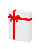 3d box gift image white Obraz Stock