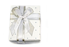 3d box gift image white Obrazy Royalty Free