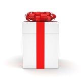 3d box gift image white Ilustracji