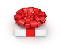 3d box gift image white Zdjęcie Royalty Free