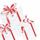 3d box gift image white 3 d pudełek podobieństwo kolumnę płytki wektor Zdjęcia Royalty Free