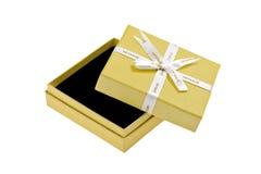 3d boxe礼品白色 免版税库存照片