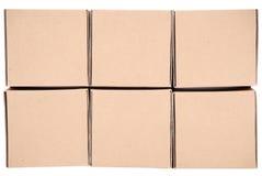 3d boxes papp frambragd bild boxes pyramiden Royaltyfri Fotografi