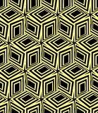 3d boxes seamless pattern. Stock Images