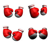 3D Boxing glove icon. 3D Icon Design Series. Stock Photos