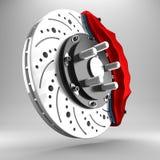3d brake. Stock Image