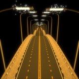 3d bridge. Stock Images