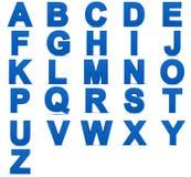 3D brieven Stock Foto