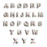 3D brieven Royalty-vrije Stock Afbeelding