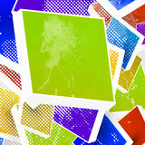 3d bright abstract background. 3d bright abstract art background Royalty Free Stock Image