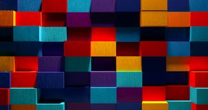 3D Bright Colorful Background Royalty Free Stock Photo