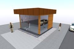 3D budynek odpłaca się w Armenia Fotografia Stock