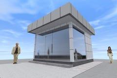 3D budynek odpłaca się w Armenia Obraz Royalty Free