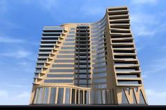 3D budynek odpłaca się w Armenia Zdjęcie Royalty Free
