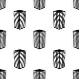 3d budynku ikona Element 3d budynku ikona dla mobilnych pojęcia i sieci apps Deseniowej powtórki 3d budynku bezszwowa ikona ikona Zdjęcie Stock