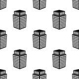 3d budynku ikona Element 3d budynku ikona dla mobilnych pojęcia i sieci apps Deseniowej powtórki 3d budynku bezszwowa ikona ikona Obraz Stock