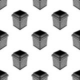 3d building icon. Element of 3d building icon for mobile concept and web apps. Pattern repeat seamless 3d building icon. icon can. Be used for web and mobile on Royalty Free Stock Photography