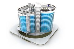 3D building model Stock Photography