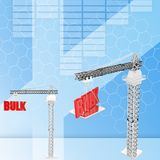 3d  bulk Illustration Royalty Free Stock Image