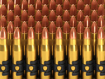 3d Bullets Stock Photo
