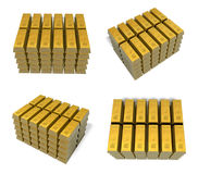 3D Bullion vaults icon. 3D Icon Design Series. Royalty Free Stock Photo