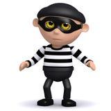 3d Burglar Stock Images