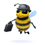3d Business bee Stock Image