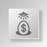 3D Business Incubator icon Business Concept Stock Photography