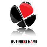 3D Business Logo Royalty Free Stock Photo