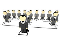 3D business people. Stock Images