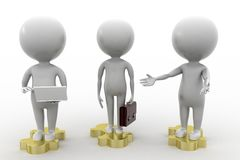 3d business people Stock Images