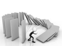 3D Businessman Stock Image