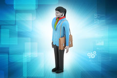 3d businesswoman Royalty Free Stock Images