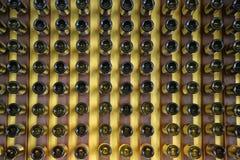 3d butelki modelują biały wino Zdjęcie Royalty Free