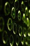 3d butelki modelują biały wino Fotografia Royalty Free