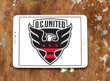 d C Logo unito del club di calcio fotografie stock libere da diritti