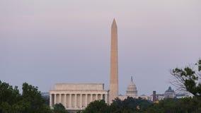D.C. Skyline Sunset Time Lapse