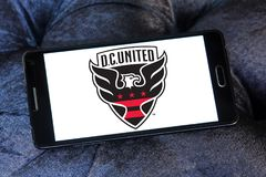 d C Zlany piłka nożna klubu logo obraz stock