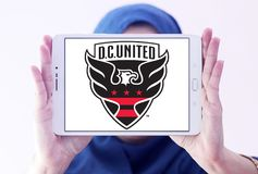 d C Zlany piłka nożna klubu logo obrazy stock