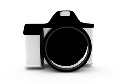 3d camera concept Royalty Free Stock Image
