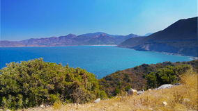 D82 camino costero famoso, Córcega, Europa metrajes