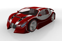 3D car Royalty Free Stock Photography