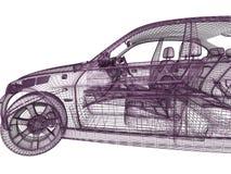 3d car model Stock Images